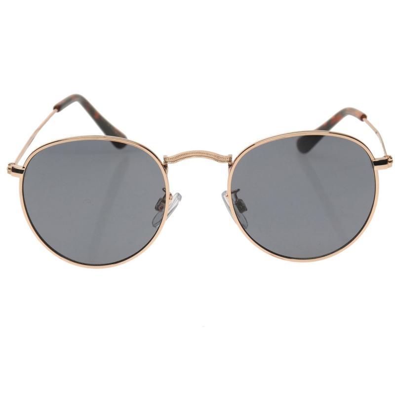 Firetrap Manchester Sunglasses Mens Gold/Black