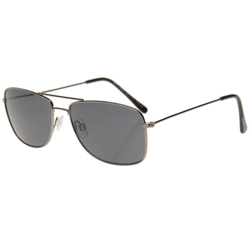 Firetrap NY Sunglasses Mens Black/Black