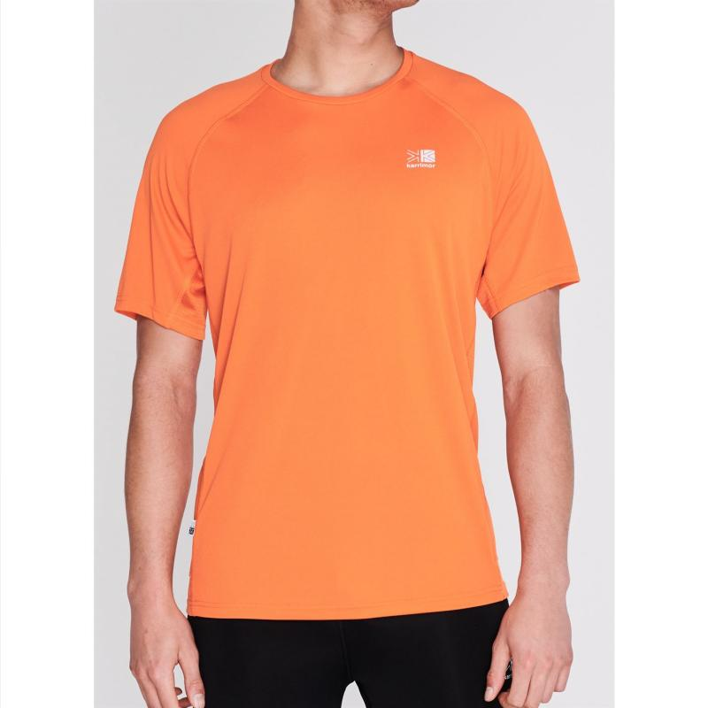 Tričko Karrimor Short Sleeve Run T Shirt Mens Red