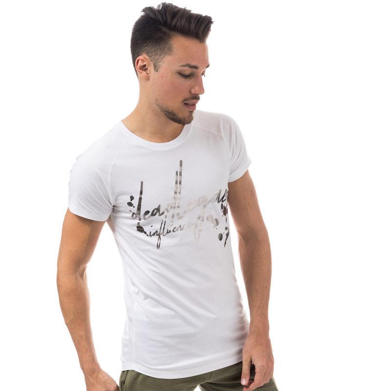 Tričko Dead Legacy Mens Metallic T-Shirt White Velikost - XXL
