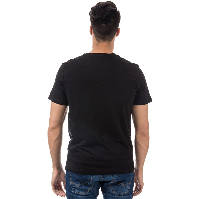 Tričko Jack Jones Mens Walcott T-Shirt Black