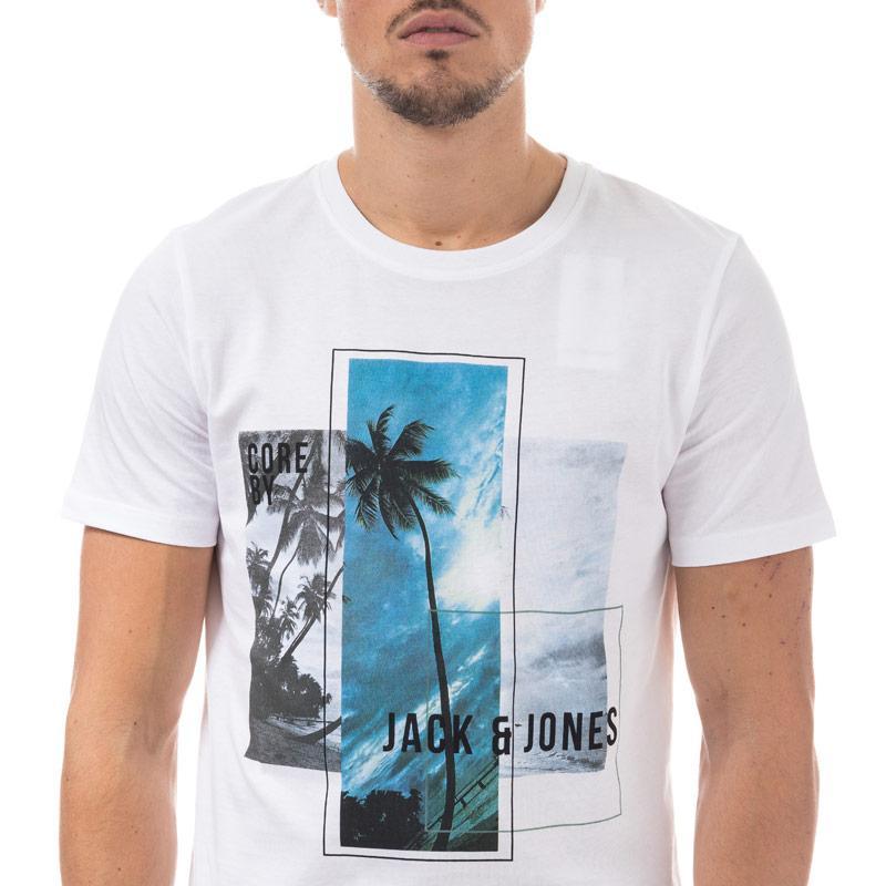 Tričko Jack Jones Mens Walcott T-Shirt White