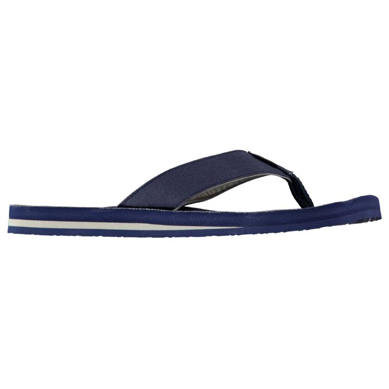 ONeill Chad Pattern Flip Flops Mens Grey