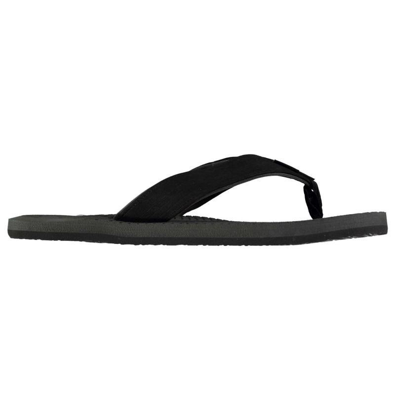 ONeill Koosh Slide Flip Flops Mens Black