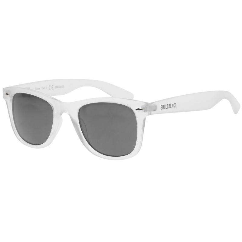 SoulCal Cuba Sunglasses Mens Clear/Black