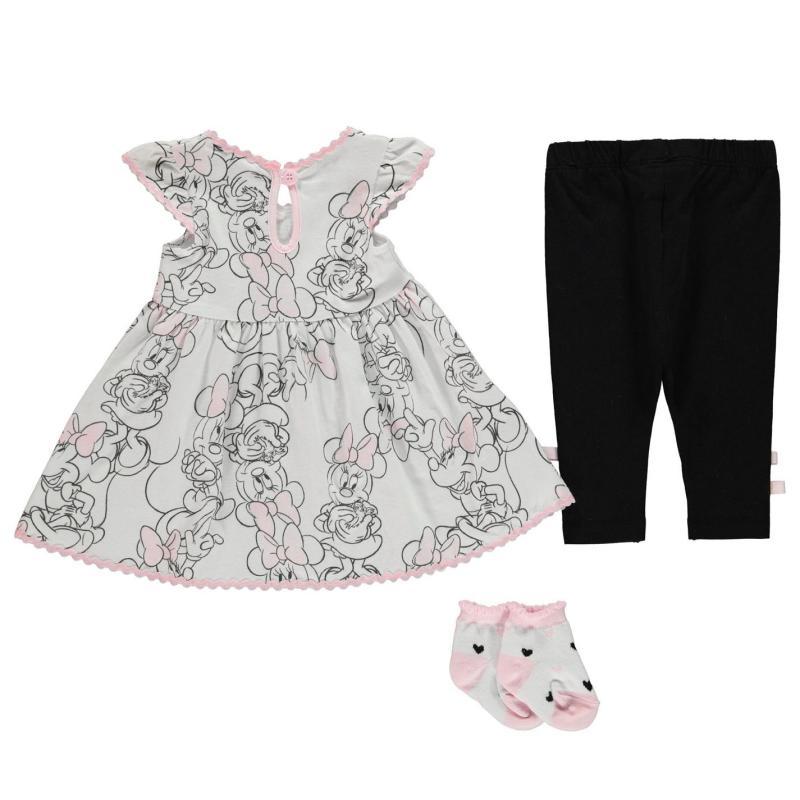 Šaty Disney 3 Piece Dress Baby Girls Minnie Stripe