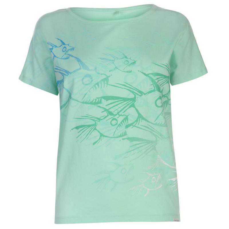 Tričko Hot Tuna T Shirt Ladies Beach Glass