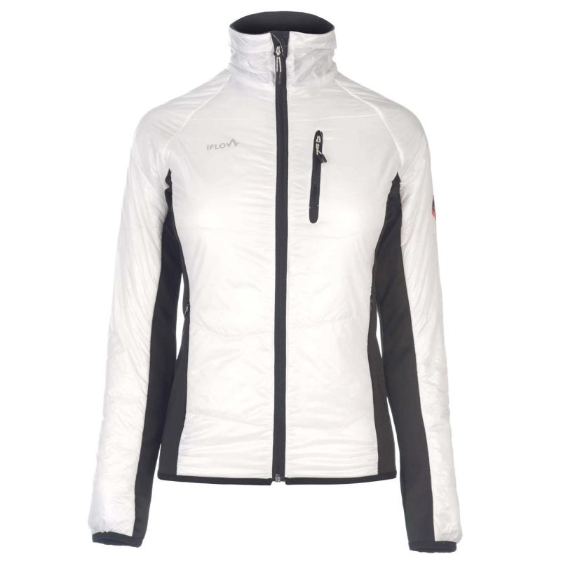 Mikina IFlow Midlayer Jacket Ladies White/Black