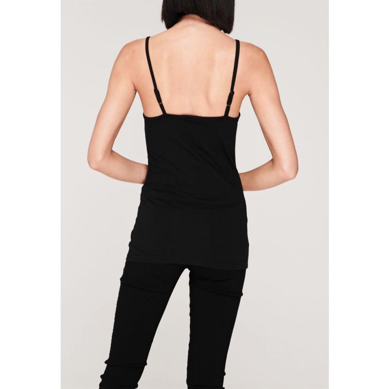 Miso Cami Vest Ladies Charcoal Marl