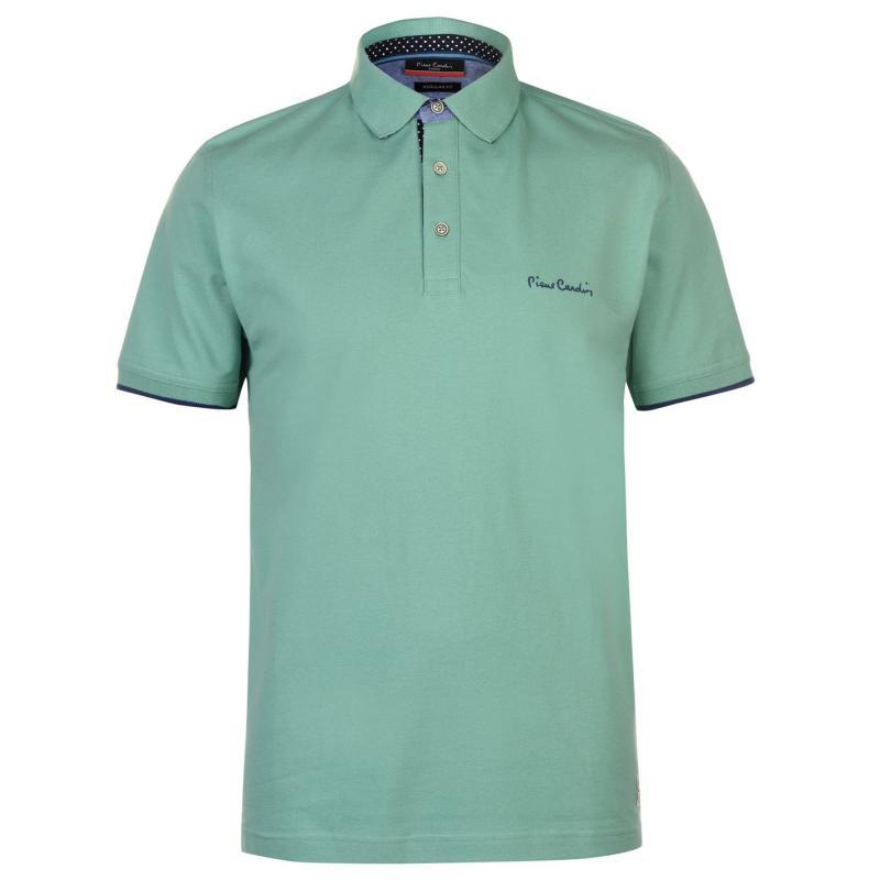 Pierre Cardin Detail Polo Shirt Mens White