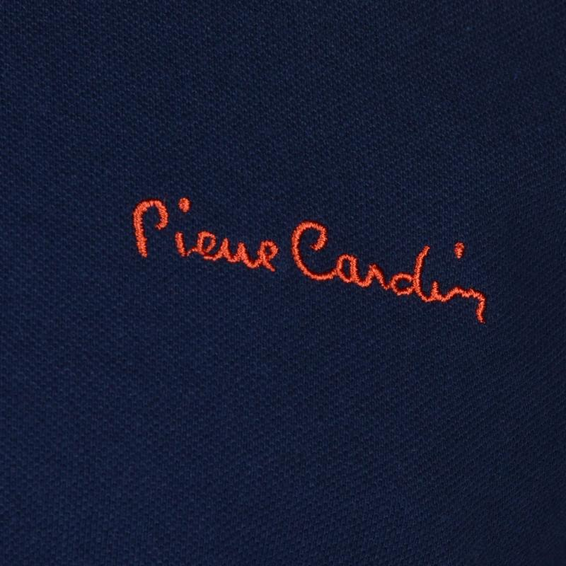 Pierre Cardin Detail Polo Shirt Mens Navy