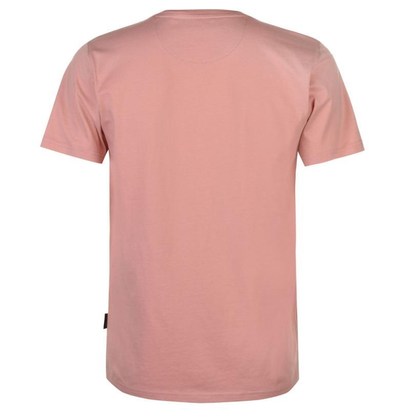 Tričko Pierre Cardin Print T Shirt Mens Pink