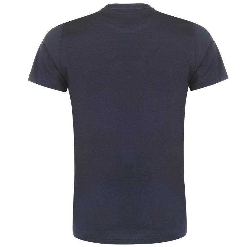 Tričko Pierre Cardin Print T Shirt Mens White