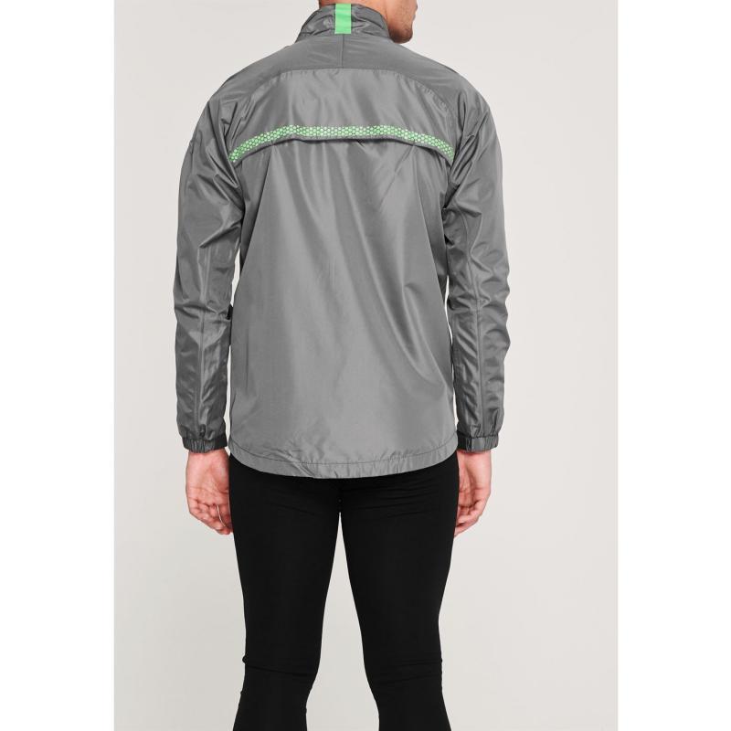 Slazenger Golf Waterproof Jacket Mens Charcoal