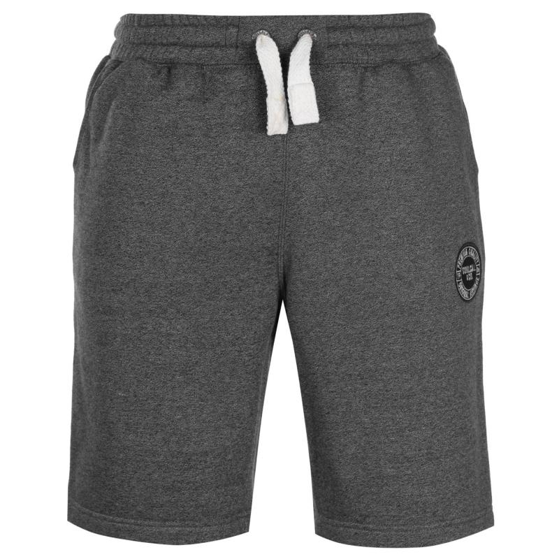 SoulCal Signature Fleece Shorts Mens Black