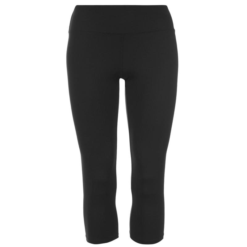 USA Pro Capri Leggings Ladies Black