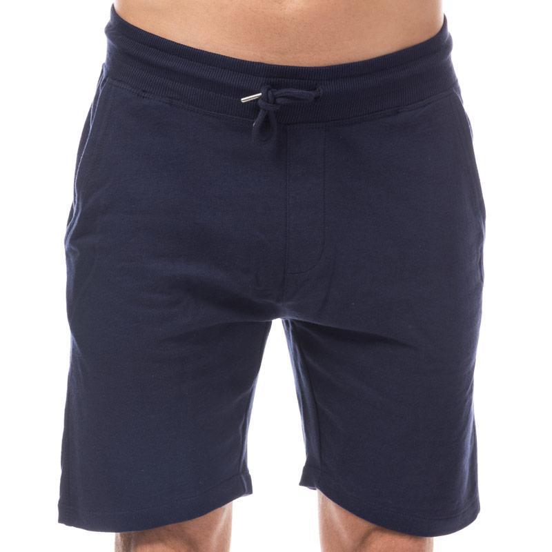 D-Struct Mens Basen Jog Shorts Navy