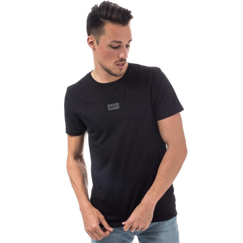 Tričko D-Struct Mens Mellow T- Shirt Navy