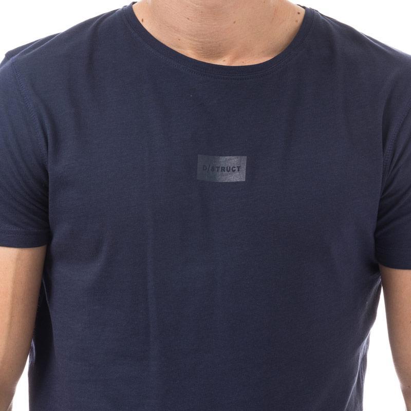Tričko D-Struct Mens Mellow T- Shirt Grey Marl