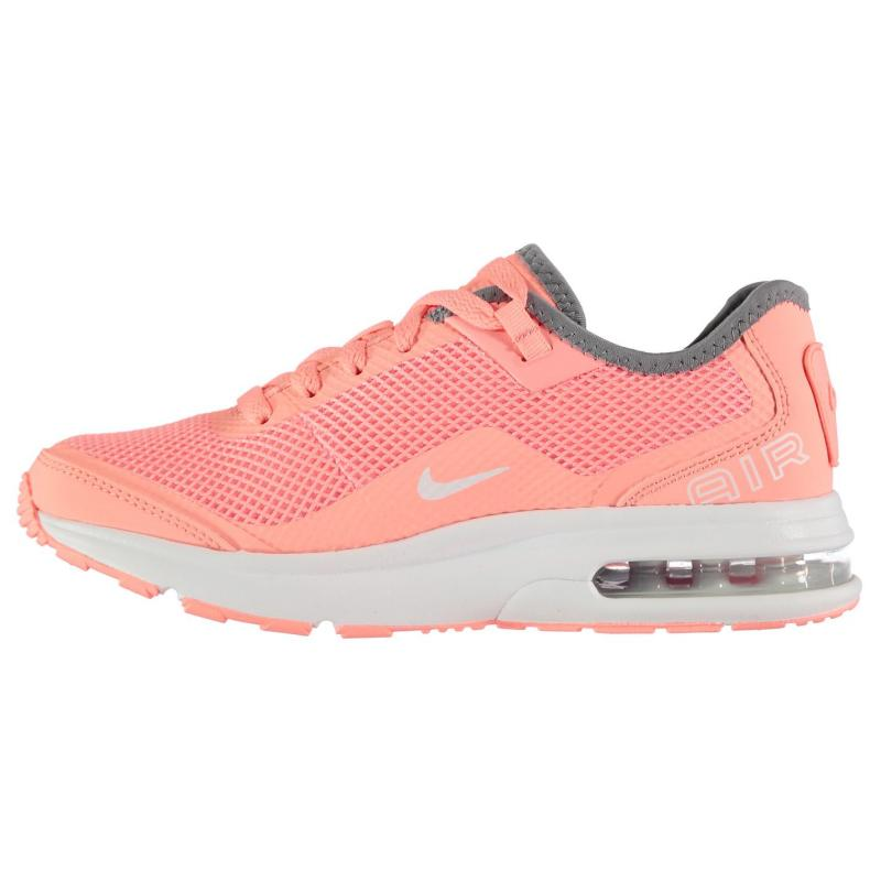 Nike Air Max LB Trainers Junior Girls Pink/White