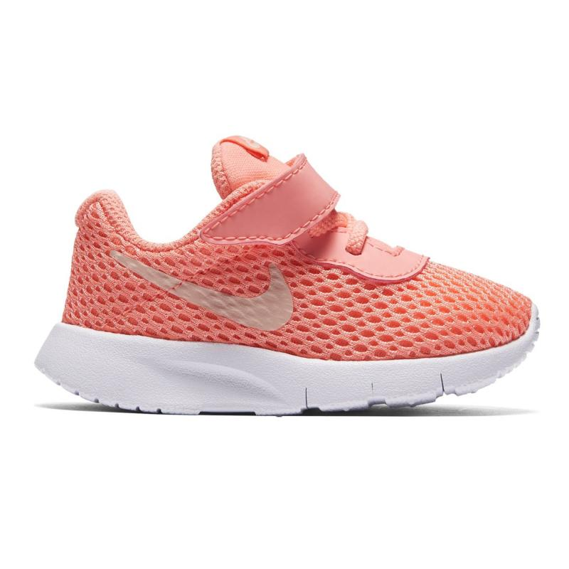 Nike Tanjun Trainers Infant Girls Pink/Red