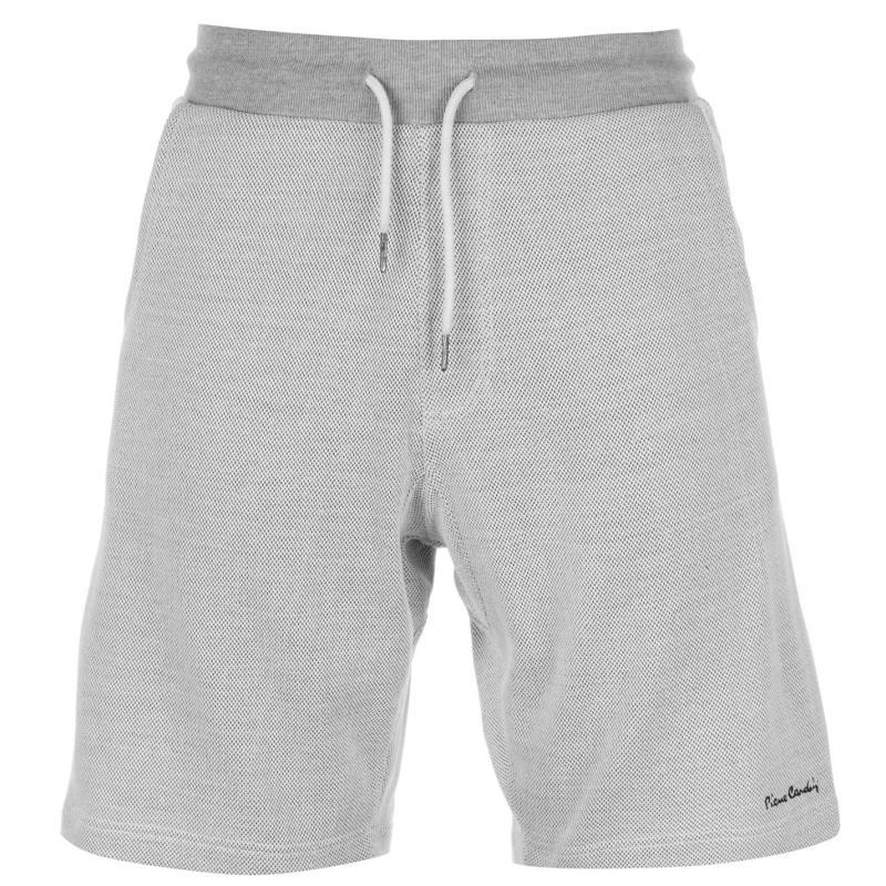 Pierre Cardin Pique Shorts Mens Ecru
