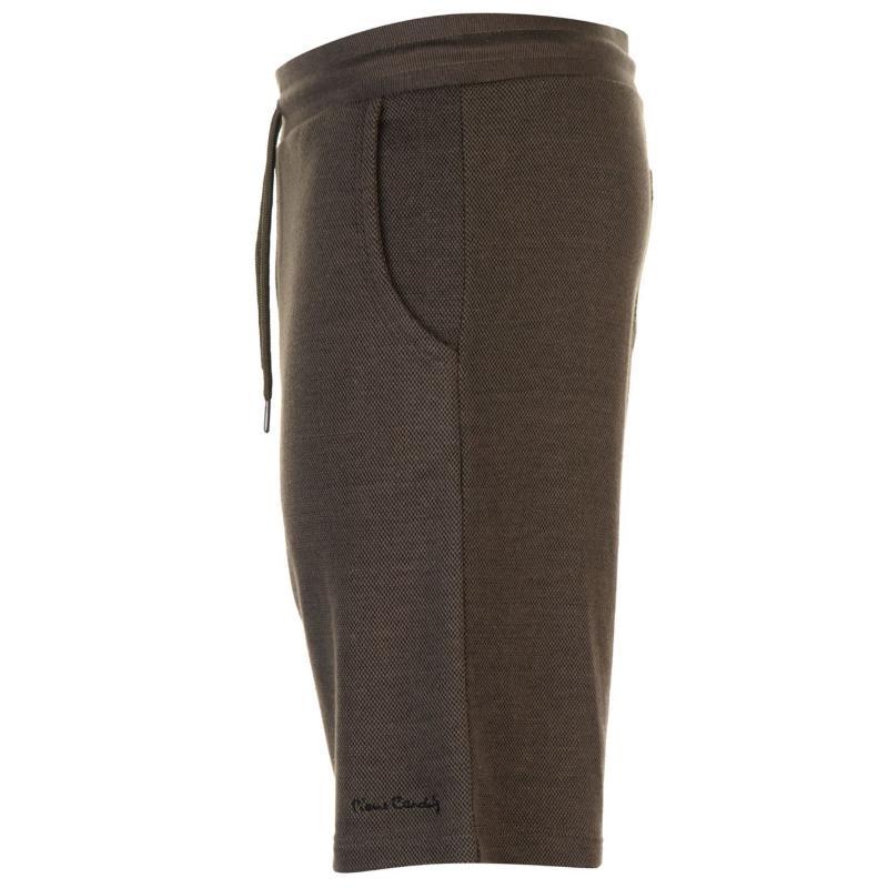 Pierre Cardin Pique Shorts Mens Light Khaki