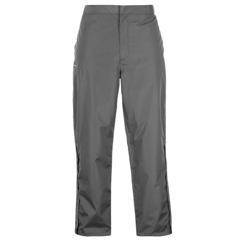 Slazenger Golf Waterproof Trousers Mens Charcoal