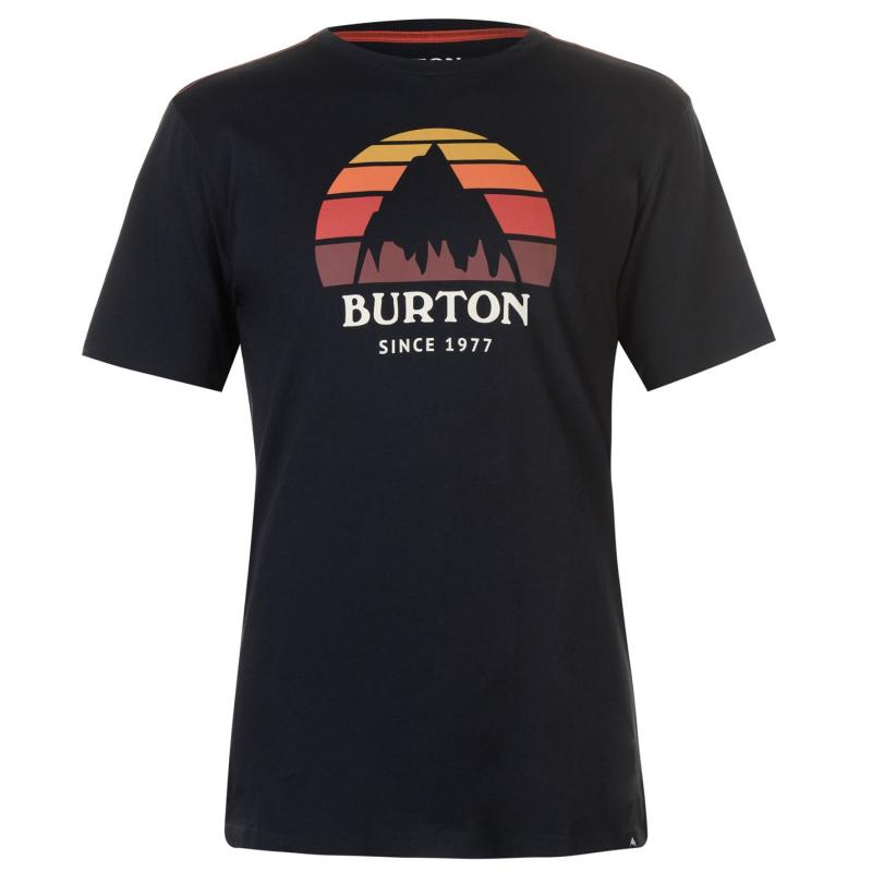 Tričko Burton Classic Tee Sn83 Black