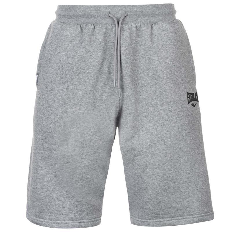 Everlast Fleece Shorts Mens Char Marl