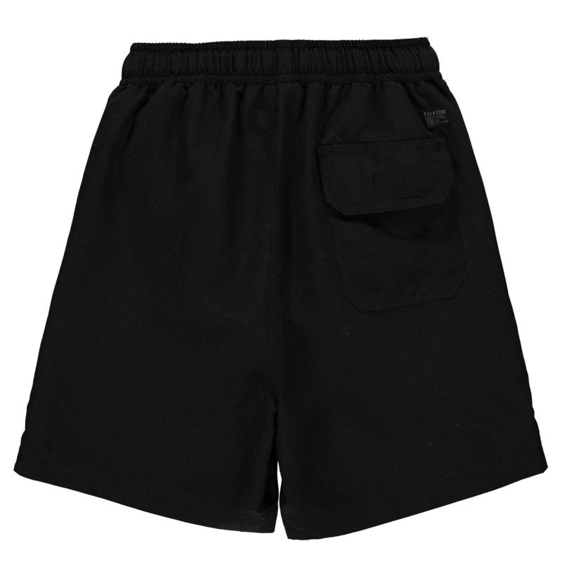 Plavky Firetrap Swim Shorts Junior Boys Black