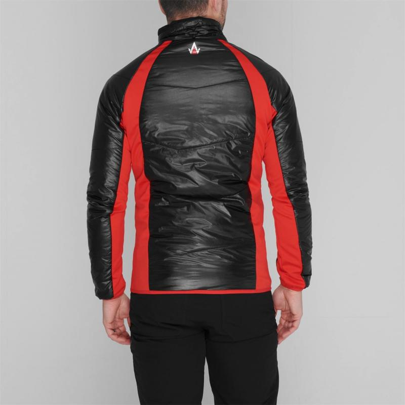 IFlow Midlayer Jacket Mens Black/Red
