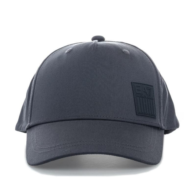Emporio Armani EA7 Mens Baseball Cap Grey