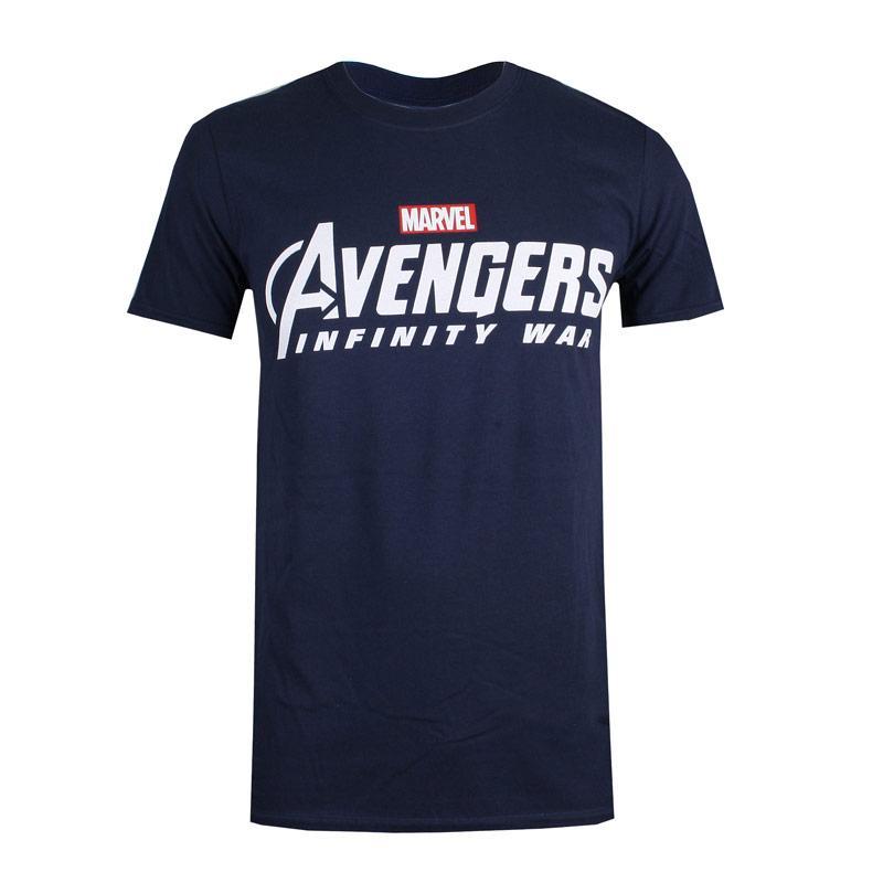 Tričko Marvel Mens Avengers Infinity War T-Shirt Navy