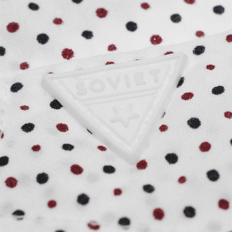 Soviet Dot Shirt White