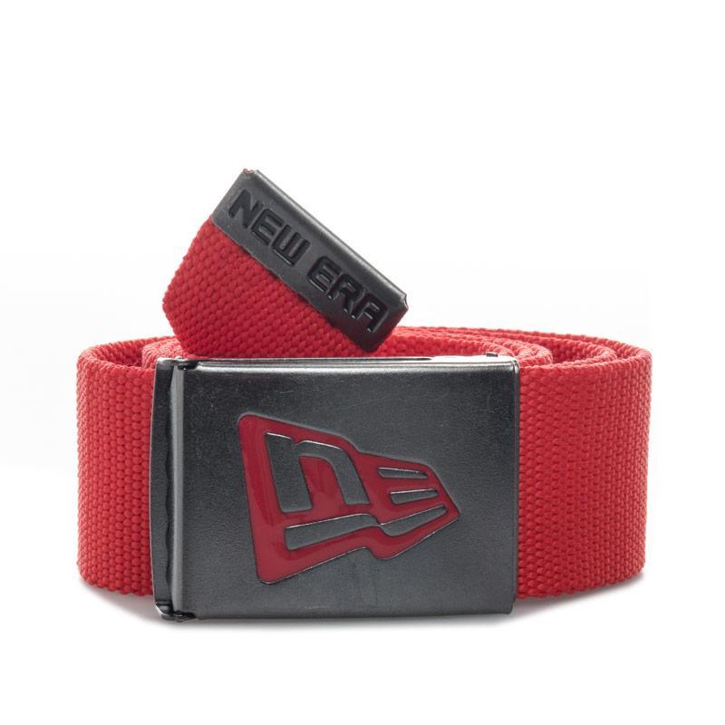 New Era Basic UK Canvas Belt Red