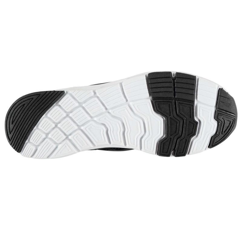 Fabric Monza Junior Trainers Black/White