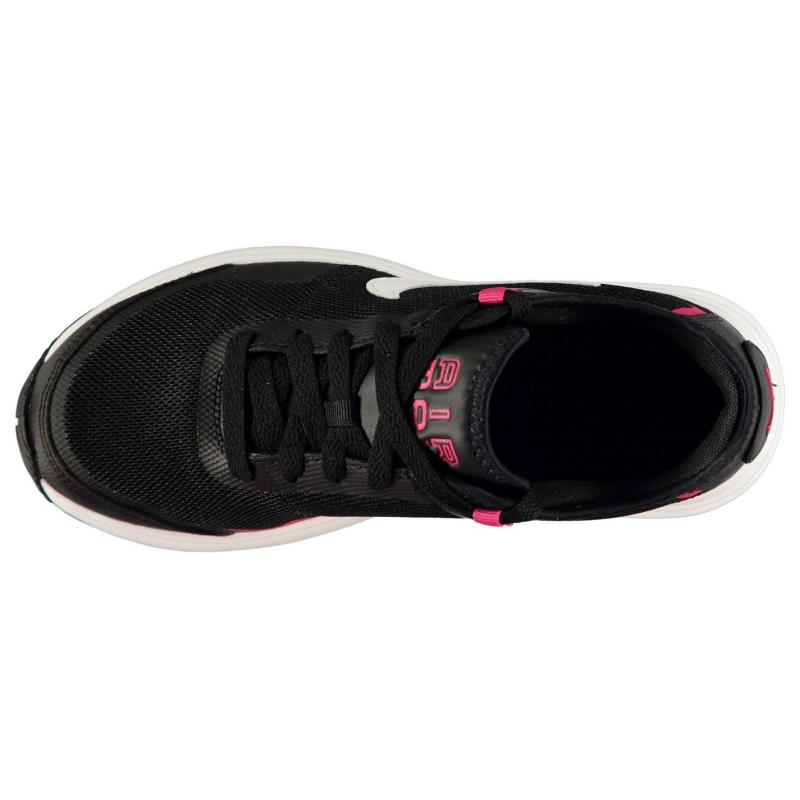 Nike Air Max LB Trainers Junior Girls Black/Wht/Pink