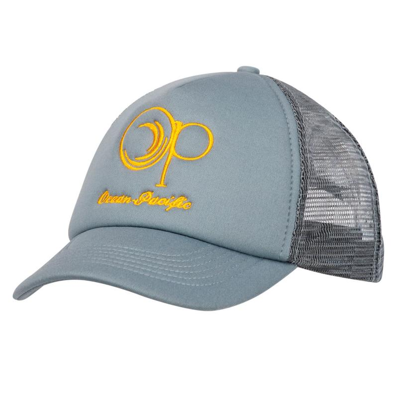 Ocean Pacific Trucker Cap Mens Light Grey