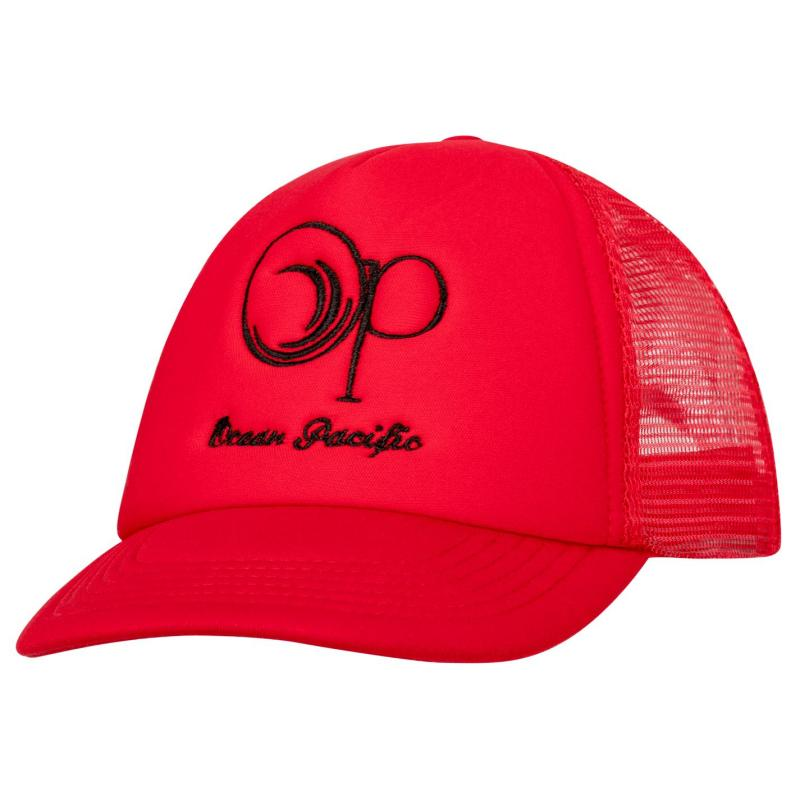 Ocean Pacific Trucker Cap Mens Red