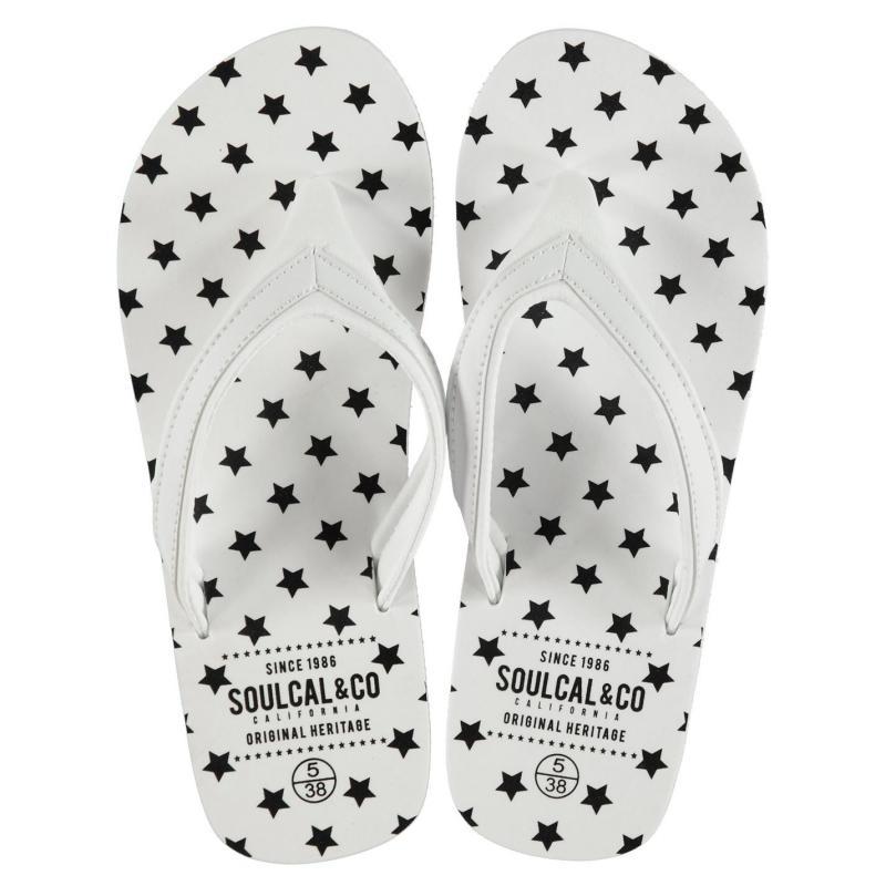 Boty SoulCal EVA Flip Flops Ladies White