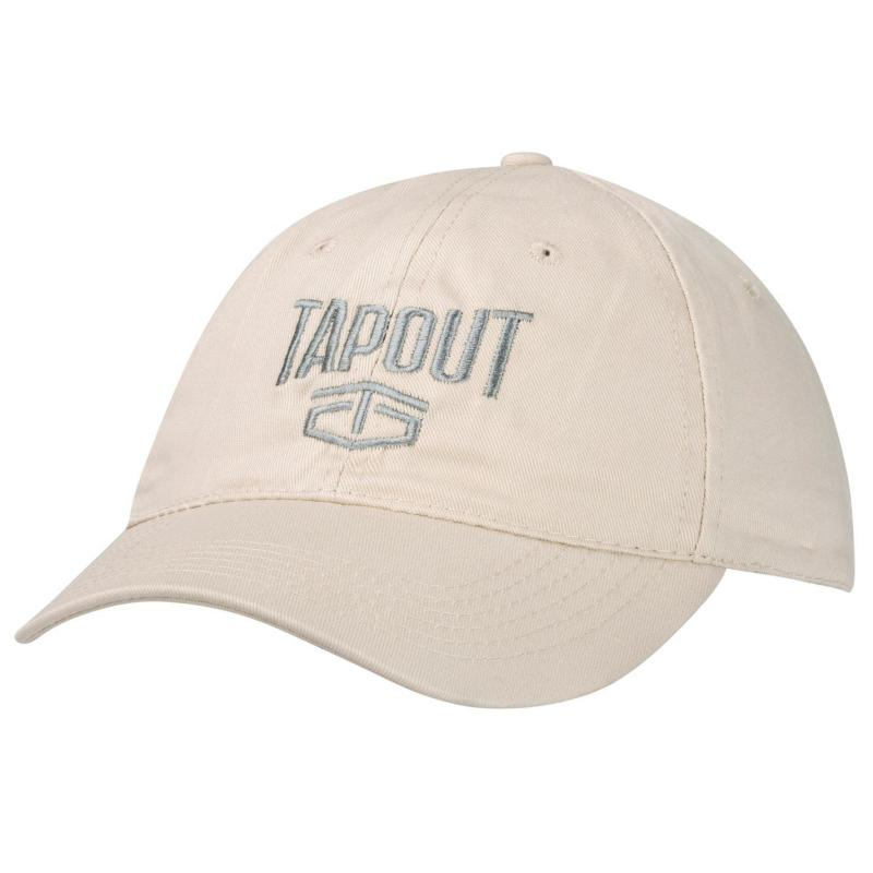 Tapout Large Logo Baseball Cap Light Grey