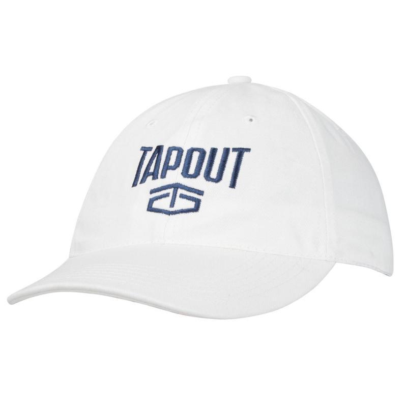 Tapout Large Logo Baseball Cap White