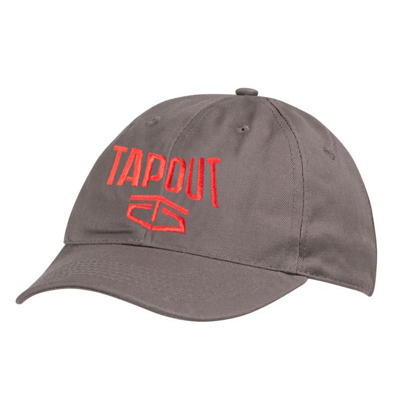 Tapout Large Logo Baseball Cap Light Grey