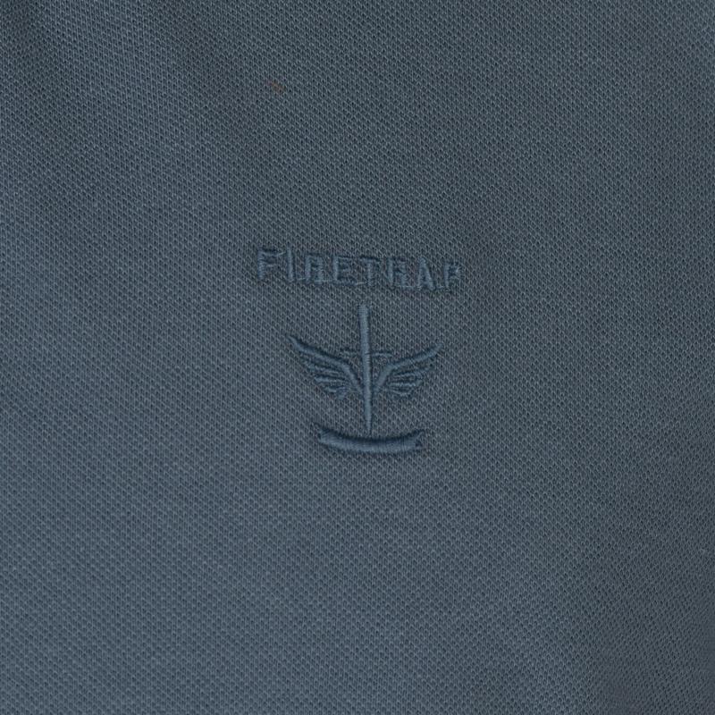 acd317643286 Firetrap Beam Polo Shirt Mens Blue Mirage