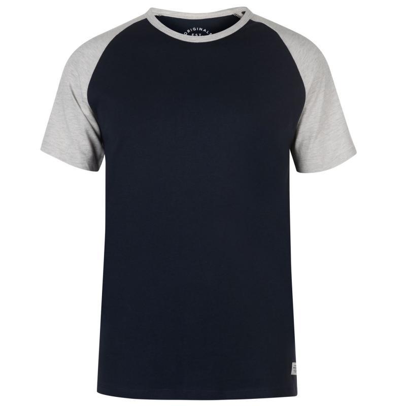 Tričko Jack and Jones Newstan T Shirt Total Eclipse