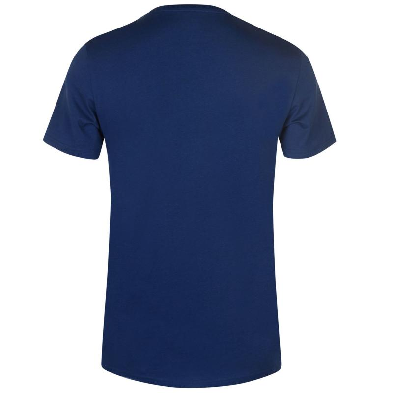 Tričko Jack and Jones Original Solid Bell T Shirt Estate Blue