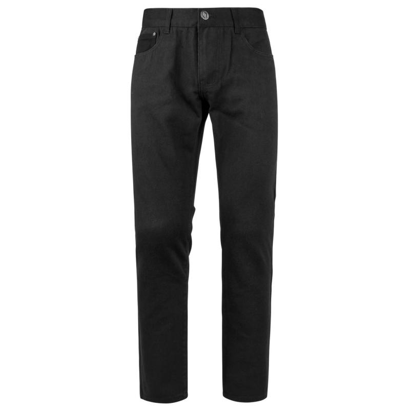 Kalhoty Lee Cooper Casual Chinos Mens Black