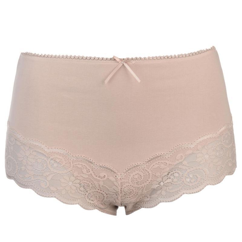 Spodní prádlo Miso Light Control Briefs Ladies Beige