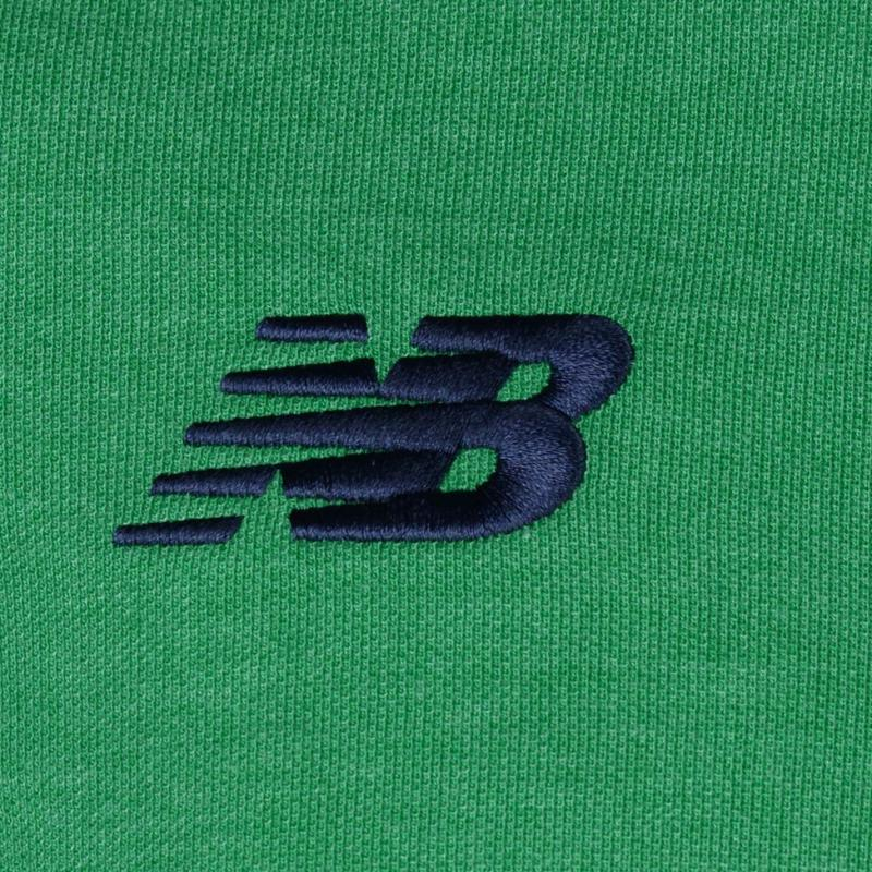 New Balance Ireland Elite Media Motion Polo Mens Green Marl